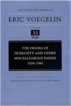 Voegelin Collected Works 33