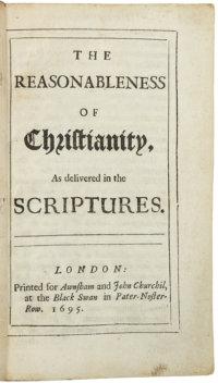 "John Locke On ""The Reasonableness Of Christianity"""